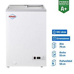 Congelador horizontal 100 litros