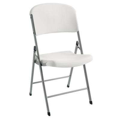Silla plegable pl stica blanca for Homecenter sodimac terrazas