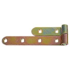 Gozne para puerta de madera zincado 7