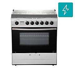 Cocina a gas 6 quemadores 84 litros plateado