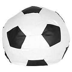 Pera pelota 60x70x70 cm blanco negro