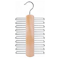 Colgador para corbatas madera Natural