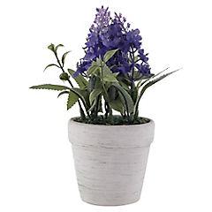 Arreglo floral pequeño con macetero
