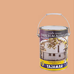 Esmalte al Agua Satinado 1 galón Damasco