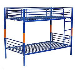 Camarote desmontable 1.5 plazas azul