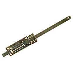 Picaporte parche 15cms zincado 1 unidad
