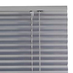 Persiana aluminio plata