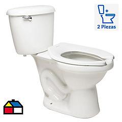 Taza de WC 6 litros blanco