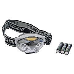 Linterna LED manos libres con pilas 45 lm
