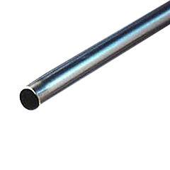 3 x 2 mm x 6 mt perfil tubular redondo for Perfiles de hierro galvanizado precio