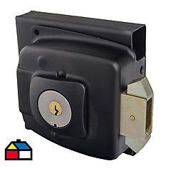 Cerradura de sobreponer 2090 para acceso con llaves y caja negro