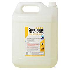 Cloro líquido para piscinas 10 litros bidón