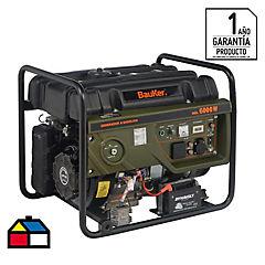 Generador eléctrico a gasolina 6000 W 8,5 hr
