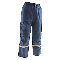 Pantalón Trabajo Cargo Azul M