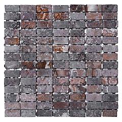 Malla Mosaico 28.5 x 28.5 cm Mármol Travertino Rapollano