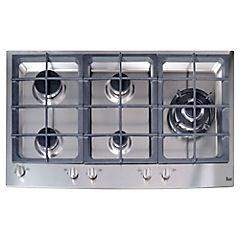 Cocina encimera a gas 5 quemadores EW/90 5G AI AL TR