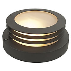 Lámpara tortuga exterior 60 W Negro