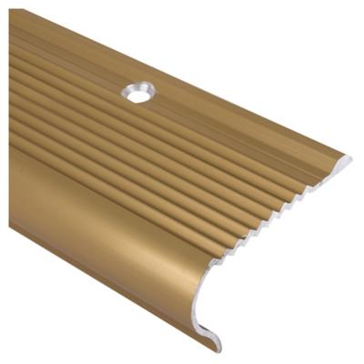 Nariz de grada oro mt for Escalera plegable aluminio sodimac