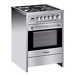 Cocina 4 quemadores PRO-Q4-GL Inox