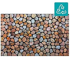 Limpiapies 55 x 90 cms Piedras playa