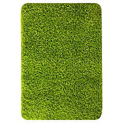 Alfombra Shaggy 60x90 cm verde