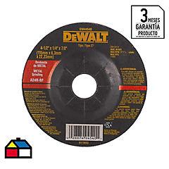 Disco de desbaste metal 4,5