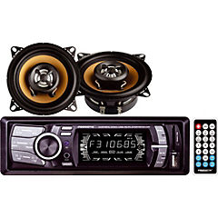 Radio + Parlantes CB-1010 USB