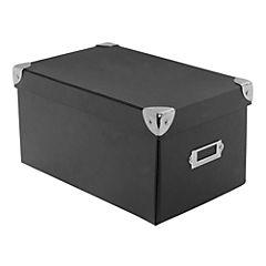 Caja escritorio 13,5x15,5x26 cm Negro