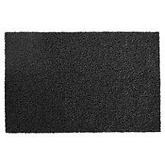 Limpiapiés 1,22 m Negro