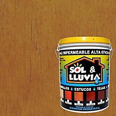 Impermeabilizante Sol & Lluvia 1 galón Siena