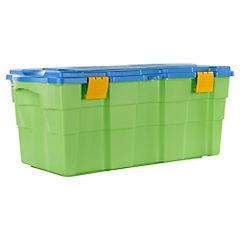 Baúl 40x45x94 cm 100 litros Verde/Celeste