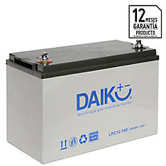 Batería de automóvil 100 A 12 V Izquierdo positivo