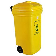 Eco Contenedor 120 litros amarillo