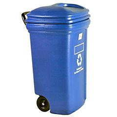 Eco Contenedor 120 litros azul