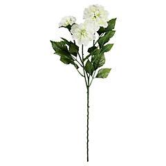 Flor Dlor Dalia x3 Blanco
