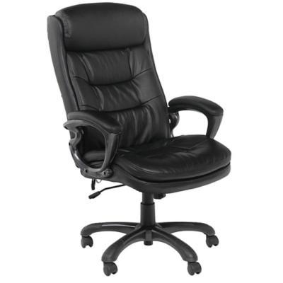 Sill n ejecutivo con masajeador negro for Sillas ergonomicas sodimac