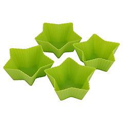 Set 4 Moldes Estrella Silicona
