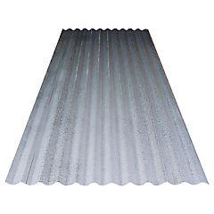 0.35 x 851 x 6000 mm, Plancha acanalada Zinc