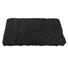 Piso Micro Soft Clau Negro 50x80 cm