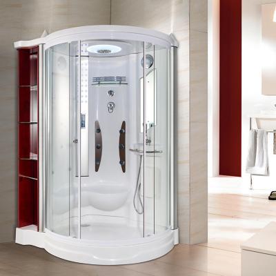 Cabina hidromasaje 99 x 99 x 210 cm 6 jets zapallar for Llaves para duchas sodimac
