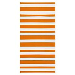 Cerámica 25 x 50 cm Agatha Lins Naranja 0.125 m2