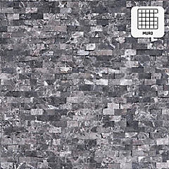 Malla Mosaico 30.5 x 30.5 cm Dark Rústico