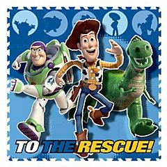 Alfombra Toy Story Goma Eva 16 piezas