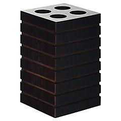 Portacepillo Bamboo negro