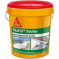 Tineta 18 lt. Impermeabilizante acrílico y aislante térmico Acril-techo