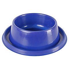 Plato antihormiga mediano azul