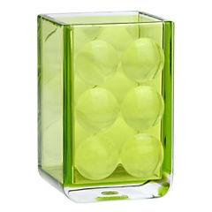 Vaso de baño Dots verde