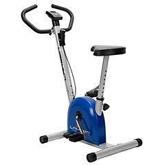 Bicicleta estática mecánica azul