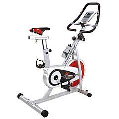 Bicicleta estática magnética rojo