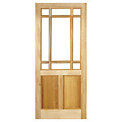 Puerta pino oregón 75x200 cm